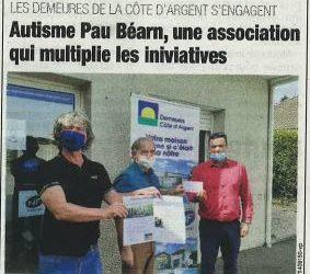 Autisme Pau Béarn et Les Demeures de la Côte d'Argent