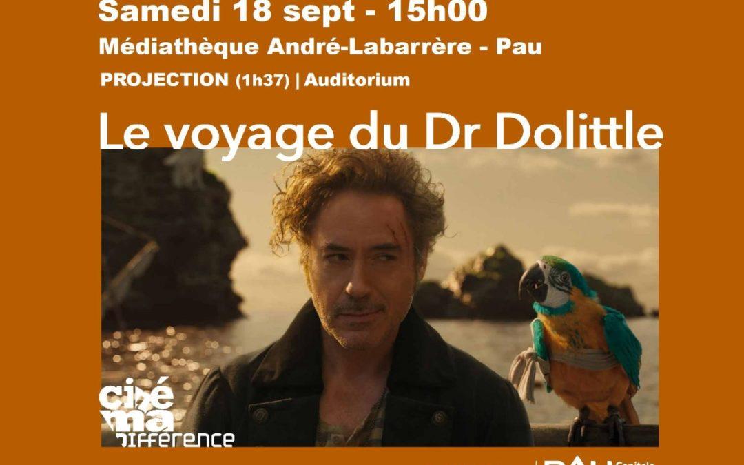 Projection samedi 18 septembre – Le voyage du Dr Dolittle